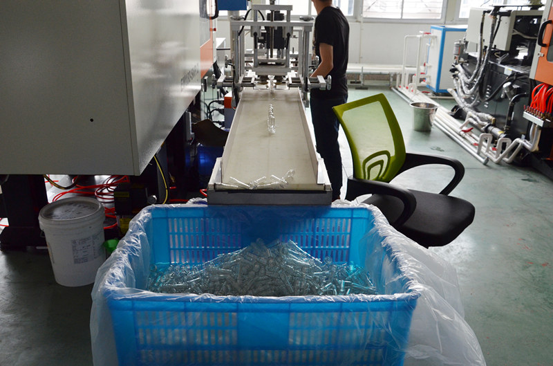 Plastic Bottles Injection Process
